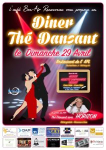 Diner - Thé dansant @ Restaurant de l'APL | Leuze-en-Hainaut | Wallonie | Belgique
